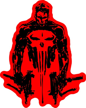 Punisher Guns Decal / Sticker 174