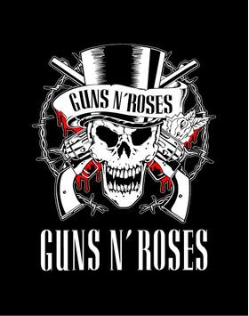 Guns N' Roses Decal / Sticker 01