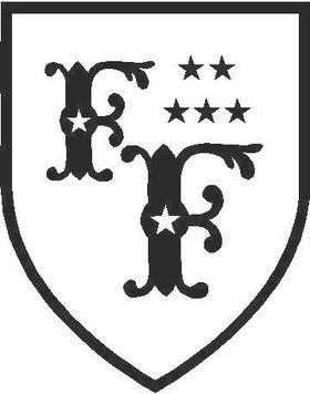 Foo Fighers Crest Decal / Sticker 03