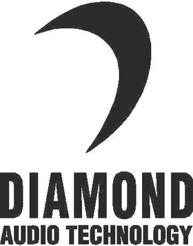 Diamond Audio Decal / Sticker