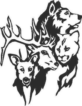 Wildlife Decal / Sticker