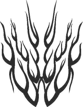Flames Decal / Sticker 37