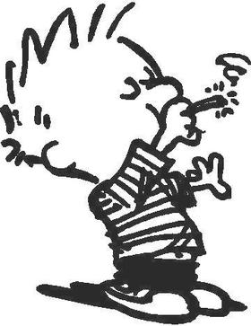 Smoking Boy Decal / Sticker