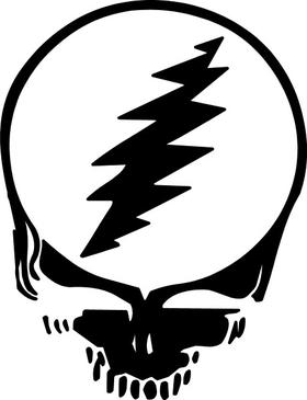 Grateful Dead Decal / Sticker 02