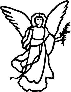 Angel 03 Decal / Sticker