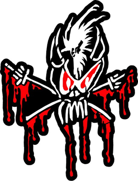Metallica Scary Guy Decal / Sticker 18