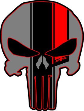 #52 Punisher Decal / Sticker 168