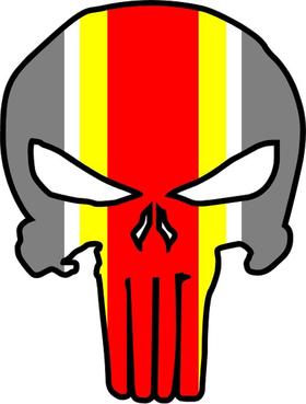 Kansas City Chiefs Punisher Decal / Sticker 41