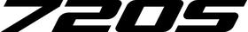 McLaren 720S Decal / Sticker 11
