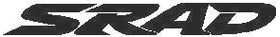 Suzuki SRAD Decal / Sticker 03