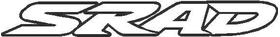 Suzuki SRAD Decal / Sticker 04