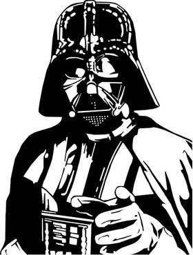 Darth Vader Decal / Sticker 09
