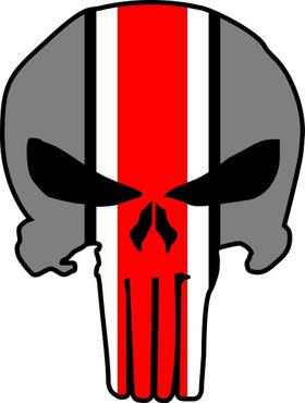 Ohio State Punisher Decal / Sticker 143