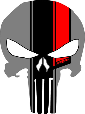 #52 Punisher Decal / Sticker 96