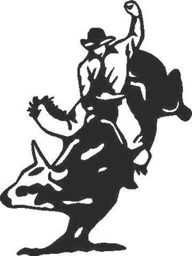 Bull rider Decal / Sticker