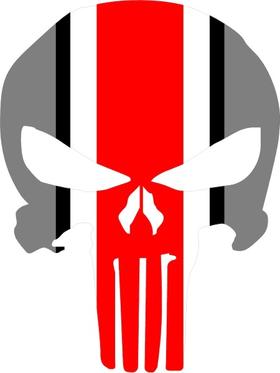 Ohio State Punisher Decal / Sticker 38