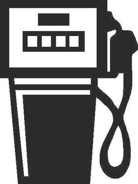 Gas Pump Decal / Sticker