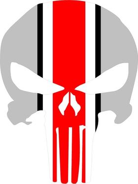 Ohio State Punisher Decal / Sticker 77