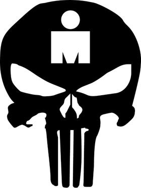 Punisher Ironman Decal / Sticker 175