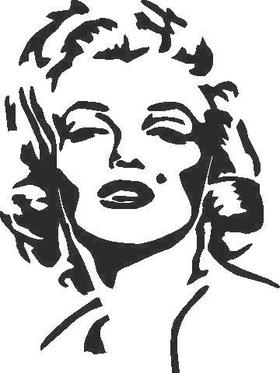 Marilyn Monroe Decal / Sticker