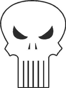 Punisher Decal / Sticker 04