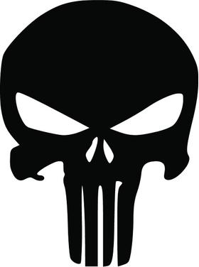 Punisher Decal / Sticker 135