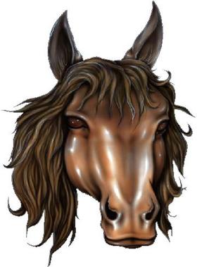 Horse Decal / Sticker 16