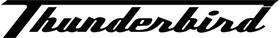 Triumph Thunderbird Decal / Sticker 24