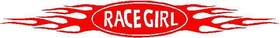 Race Girl Decal / Sticker 02