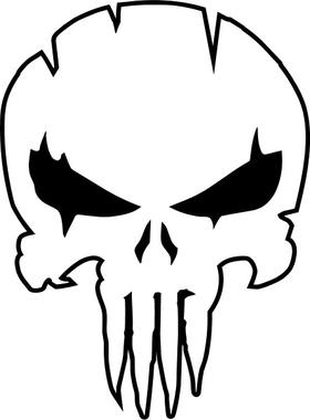 Punisher Decal / Sticker 139