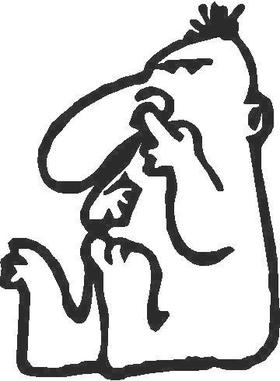 Nose Picker Decal / Sticker