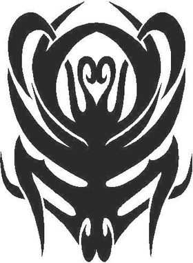 Tribal Decal / Sticker 32