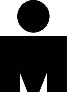 Ironman M Dot Decal / Sticker 02