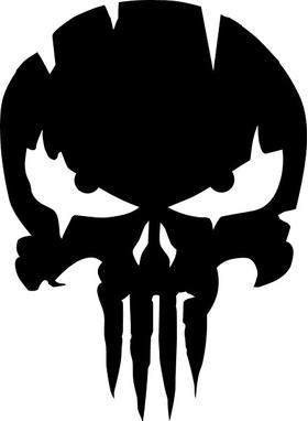 Punisher Decal / Sticker 137