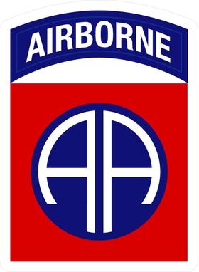 82nd Airborne Decal / Sticker 01