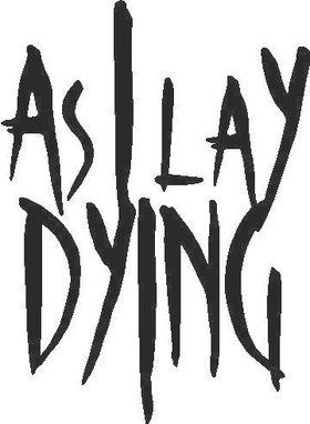 As I Lay Dying Decal / Sticker