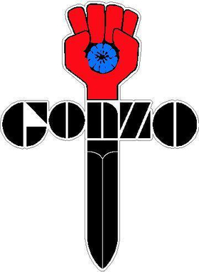 Full Color Gonzo Decal / Sticker