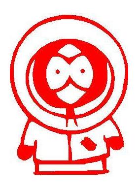 Kenny Decal / Sticker