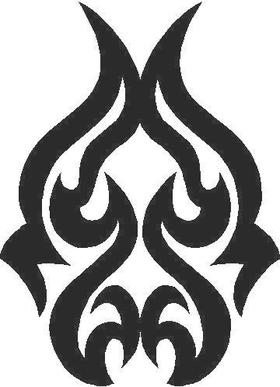 Tribal 10 Decal / Sticker