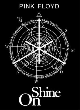 Pink Floyd Shine On Decal / Sticker 13