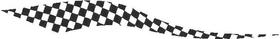 Checkered Flag Decal / Sticker 08