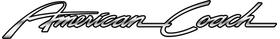 American Coach RV Decal / Sticker 03