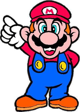 Mario Decal / Sticker
