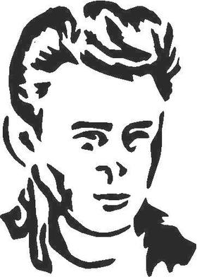James Dean  Decal / Sticker