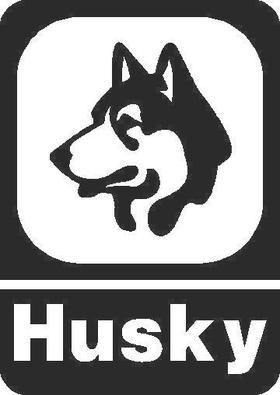 Husky logo Decal / Sticker