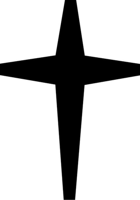 Christian Cross Decal / Sticker 16