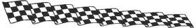 Checkered Flag Decal / Sticker 57