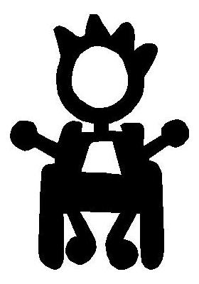 Wheelchair Boy Stick Figure Decal / Sticker 02