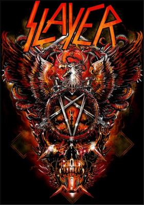 Slayer Decal / Sticker 07