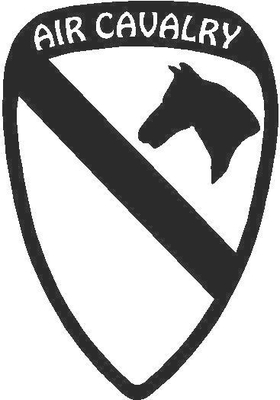 First Cavalry Division Decal / Sticker 02